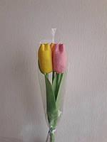Букет тюльпан. Ручная работа. Оригинальный подарок., фото 1
