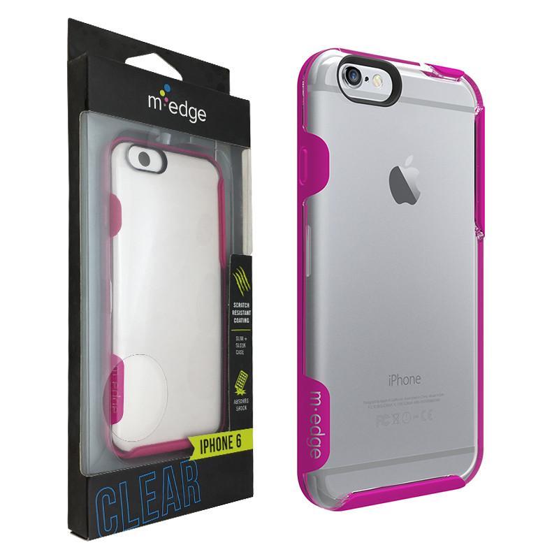 Чехол для iPhone 6/6s M-Edge Glimpse (IP6-GL-P-PK) Прозрачный.