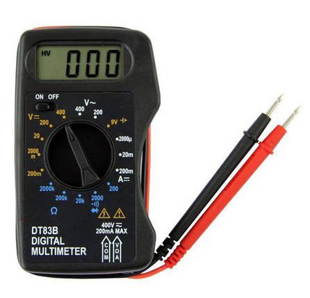 Цифровой мультиметр DT83B mini, фото 2