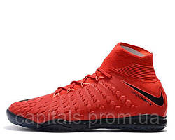 "Мужские футзалки Nike Hupervenom x Proximo II DF IC ""University Red/White/Bright Crimson"""