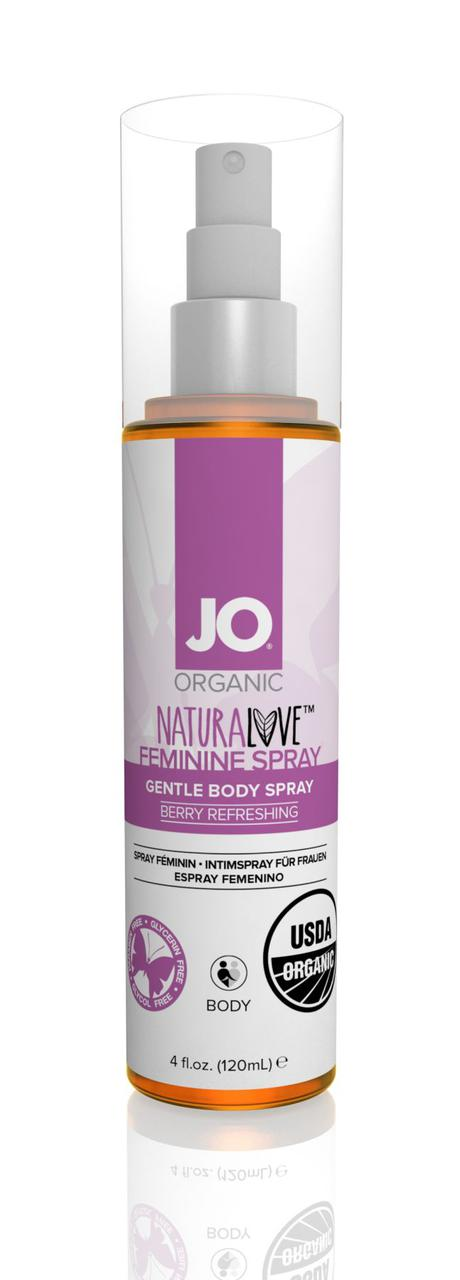 Спрей для интимной гигиены System JO USDA ORGANIC - FEMININE SPRAY - BERRY BODY (120 мл)