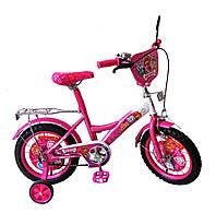 Велосипед 2-х колес 14'' Щенячий патруль 171425  со звонком, зеркалом***