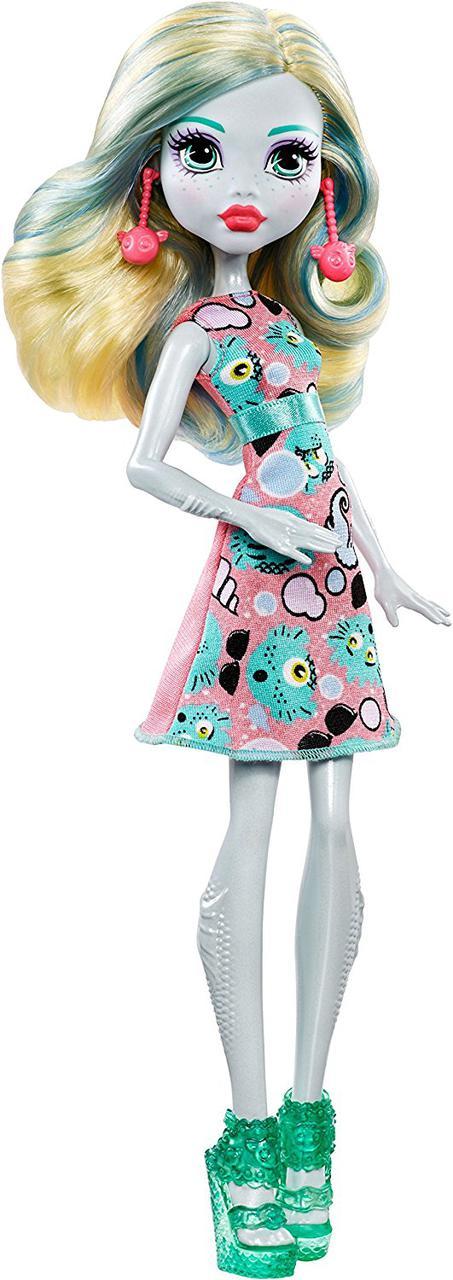 Monster High Emoji Lagoona Doll Кукла Монстер Хай Лагуна Блю Эмоджи