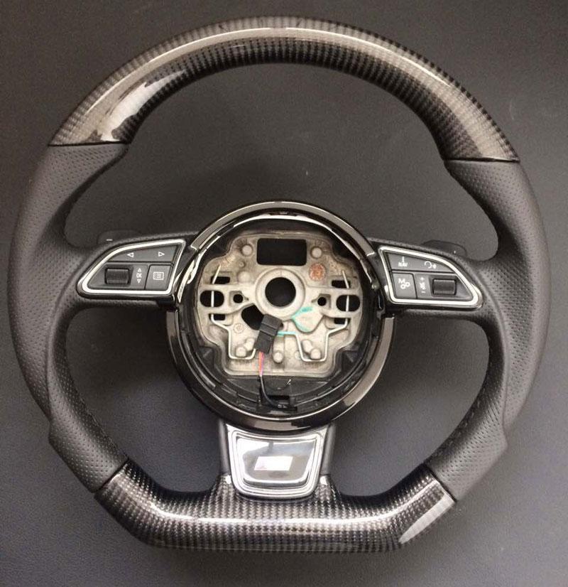 Карбоновый руль Audi A3