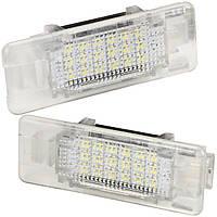 Штатная LED подсветка двери BMW E39, X5, E53, E52