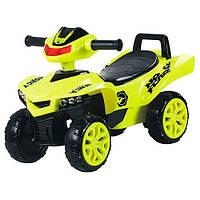 Машинка-каталка Baby Mix M 3502-6, желтый