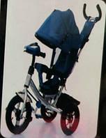 Велосипед трехколесный Azimut Air  Lambortrike L2B ( Lamborghini) синий на EVA колесах