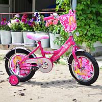 """Детский двухколесный велосипед Mustang -""""Принцесса"""" (14 дюймов)***"""