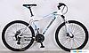 Горный велосипед 29 дюймов (19 и 21 рама) Azimut  CROSSER VIPER (2017 года) бело-синий