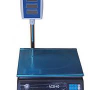 Весы торговые со стойкой 40кг ST 253-2