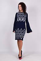 90610da285b Платье женское вязка молодёжное размер универсальный 44-52 купить оптом со склада  7км Одесса
