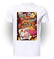 Футболка GeekLand Гравити Фолз Gravity Falls Dipper and Mabel's Guide GF.01.002