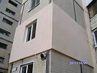 Утепление фасадов домов, квартир и административных зданий.