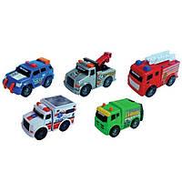 Спецтехника Toy State Городские службы 5 шт в наборе (41401)