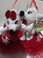 Говорящие мышки на сердце-ко дню Святого Валентина, фото 1