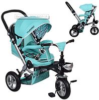 Велосипед-коляска с поворотным сиденьем, надувные колеса M AL3645A-14,мятный