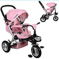 Велосипед-коляска с поворотным сиденьем, надувные колеса M AL3645A-10,нежно-розовый