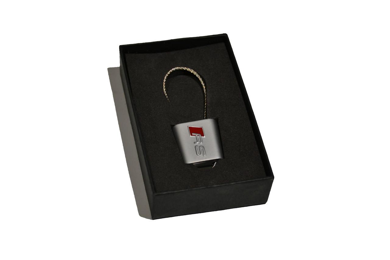 Брелок для ключей AUDI Ауди RS (Premium, трос)