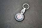 Брелок для ключей BMW БМВ ALPINA (Premium, черный) , фото 3