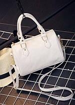 Классическая женская сумка-бочонок, фото 3