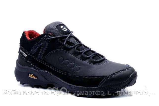 85fc35627 Мужские зимние кожаные ботинки Ecco Aero Gore-Tex синие 40, 41, 42 ...