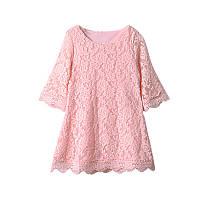 Гипюровое платье для малышки размер 80.