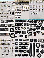 Фурнитура шанель, philipp plein, гуччи, gucci, майкл корс, брендовая 250 опт