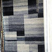 Ковёр Daffi прямоугольники - серый 1.60х2.30 м.