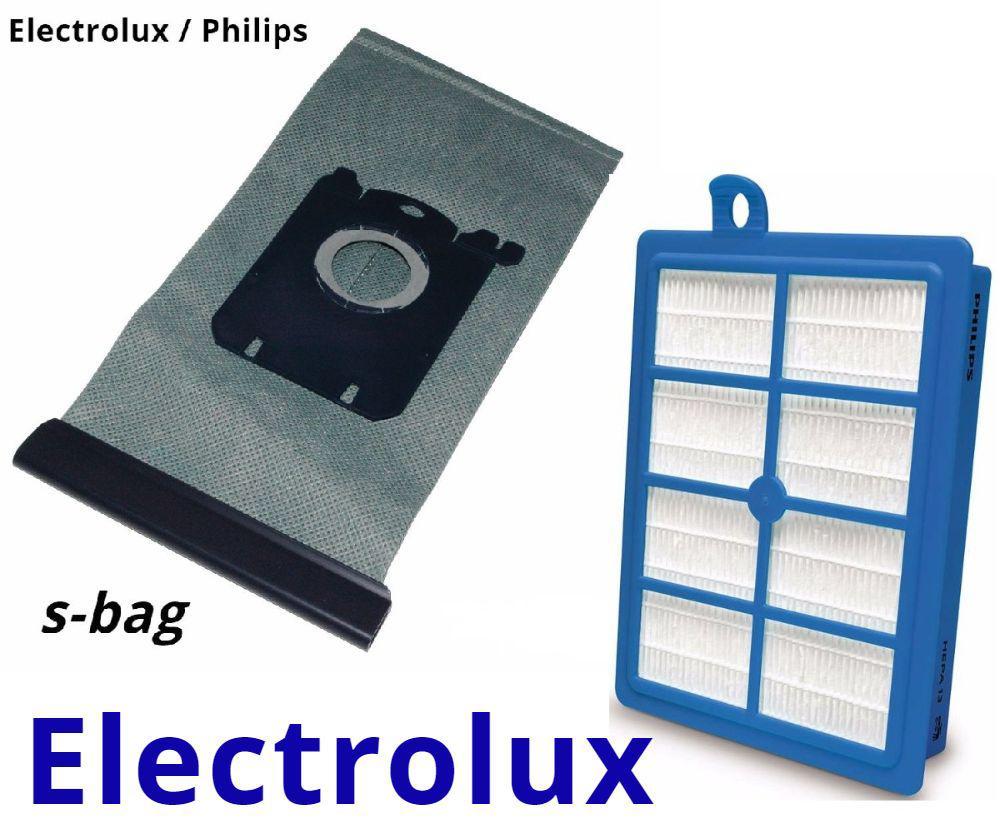 Электролюкс мешок многоразовый и фильтр хепа для пылесосов