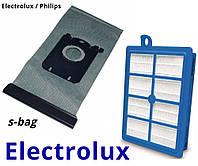 Электролюкс мешок многоразовый и фильтр хепа для пылесосов, фото 1