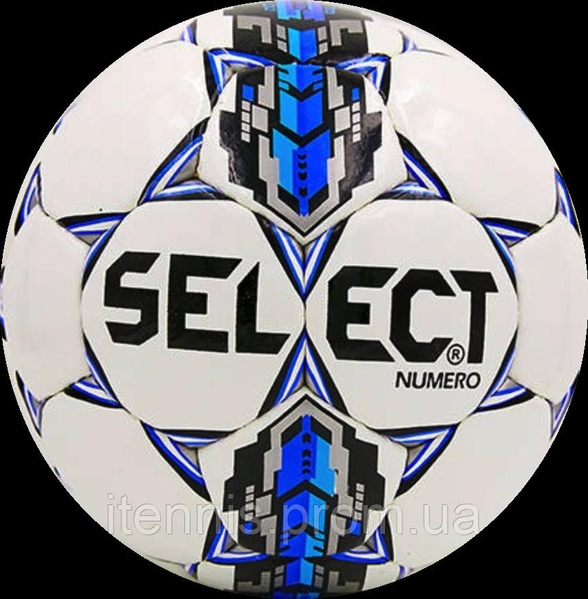 Футбольный мяч Select NUMERO Бел./Син./Сер.