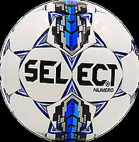 Футбольный мяч Select NUMERO Бел./Син./Сер., фото 1