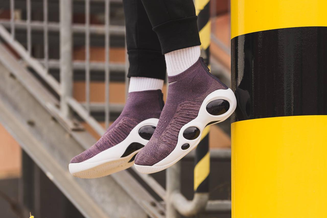 """Женские Кроссовки Nike Zoom Flight Bonafide """"Plum"""" — в Категории"""