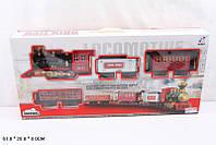 Железная дорога, батар., муз., свет, дым, в кор.61*8*28см(18шт)