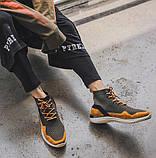 Высокие молодежные кроссовки на шнуровке, фото 2