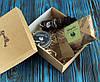 Подарочный набор масло, воск, мыло, гребень для бороды (262015)