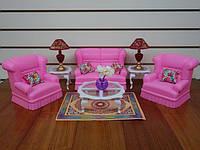 """Мебель """"Gloria""""  гостиная для кукол"""