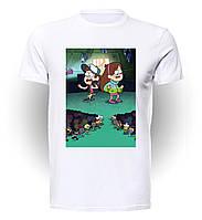 Футболка GeekLand Гравити Фолз Gravity Falls Battle GF.01.015