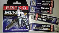 Свечи Brisk DR15YS Silver Ваз 2101- 2108 - 21099 2113-2115 Таврия Lanos, Sens