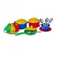 """""""Маринка 1"""" (в сетке) 2209, дктская кухня, игрушечная кухня, игровой набор, детская посудка"""