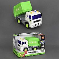 Детский инерционный грузовик Мусоровоз WY520A