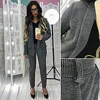 Костюм женский пиджак+брюки