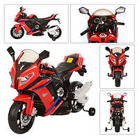 Детский мотоцикл BMW HA528 (S1000) ( М 2769)Лицензионный, красный