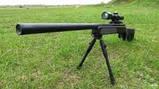 Снайперская винтовка на пульках (6мм) CYMA ZM 51 SSG 69 Sniper Rifle, фото 8