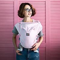 ЛавТай Love & Carry (шарфомай) Сердца, розовый с сердечками