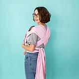 ЛавТай Love & Carry (шарфомай) Сердца, розовый с сердечками, фото 5