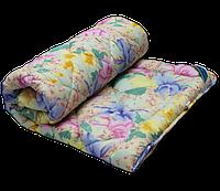 Силиконовое одеяло двойное (поликоттон) Двуспальное Евро T-44741