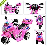 Детский мотоцикл  SUBAKI M 0638 розовый