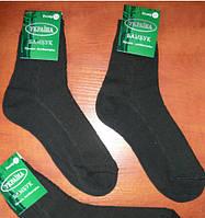 Сетка.Подростковый носок Успех. Р. 23. Бамбук. Черный.