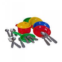 """""""Маринка 10"""" 1646, детский игровой набор, детская кухня, игрушечная кухня, игра, детская посудка"""